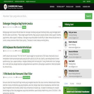 Script E-Konseling Center Online dengan Codeigniter Dan Bootstrap
