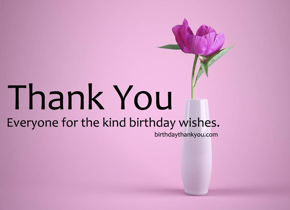 Top 100 Thank You Messages For Birthday Wishes Thank You