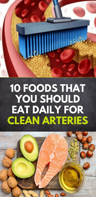10 Foods That You Should Eat Daily To Cleanse Arteries