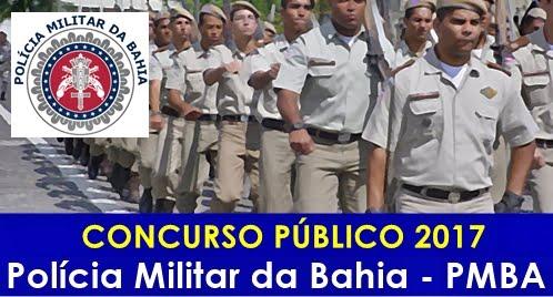 Concurso Policia Militar da Bahia (PM BA) 2017
