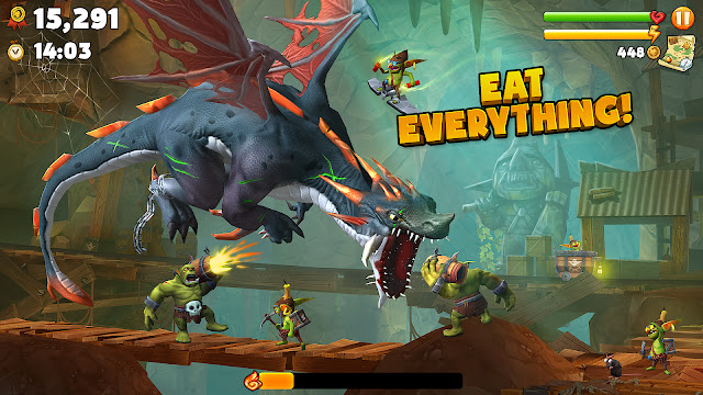 Hungry Dragon ™ v1.33 MOD UPDATE