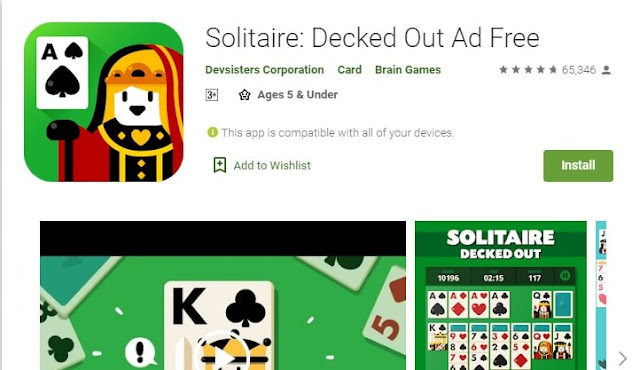 best solitaire style games for android