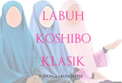 Tudung Labuh Klasik Daisi Koshibo Bidang 60 - RM29-RM39