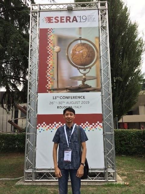 Dr. Danipog at ESERA 2019 Conference