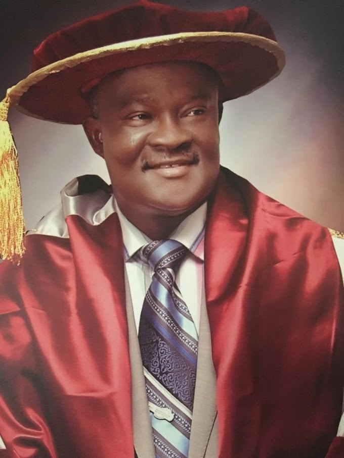Prof. Vincent Ado Tenebe: An Exceptional Administrator With Value.