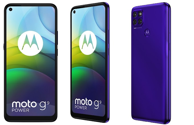 power::undefined New Moto G9 a mid-range with a huge battery
