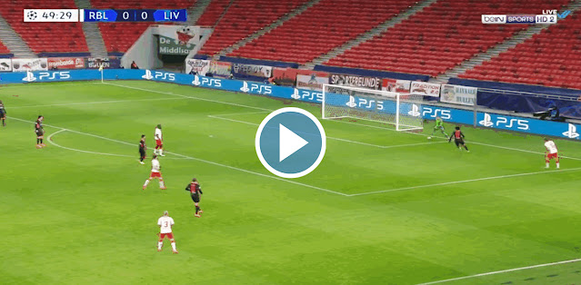 RB Leipzig vs Liverpool Live Score