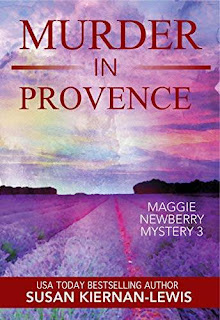 Murder in Provence - a thrilling cozy mystery free book promotion Susan Kiernan-Lewis