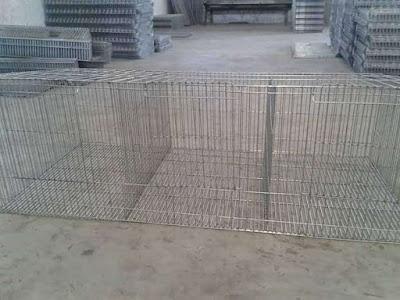 Pusat Jual grosir pabrik kandang kelinci hias galvanis murah pabrikan jawa barat terpercaya