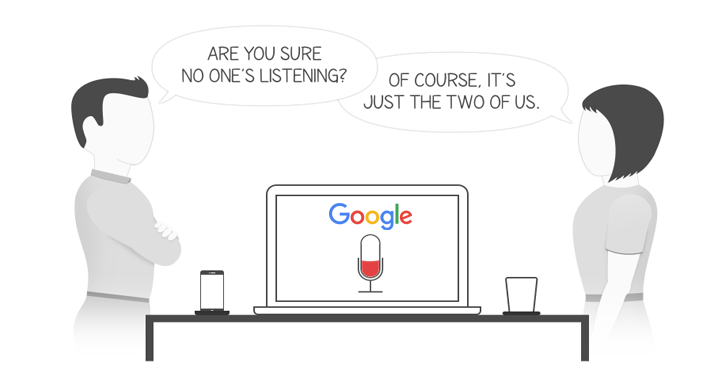 Google Records and Stores Your Voice