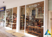 projeto arquitetura vitrine letreiro exterior loja calçados masculinos femininos mr cat icarai