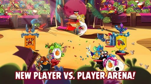 Angry Birds Epic gets an update to version  Angry Birds Epic 1.2.1 APK