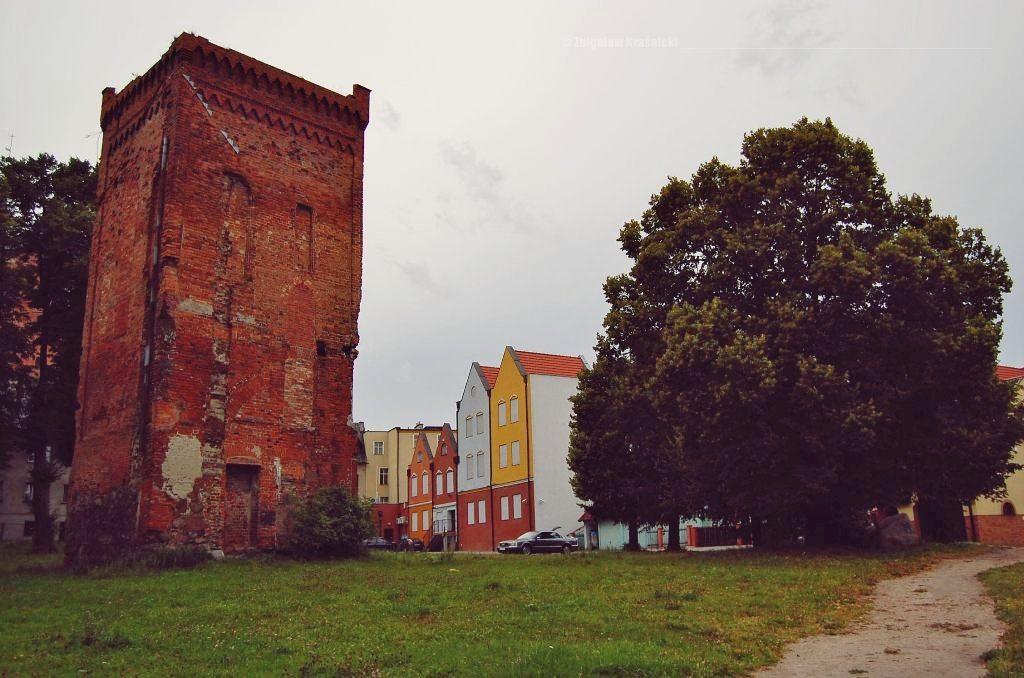 Braniewo, najstarsza budowla na Warmii