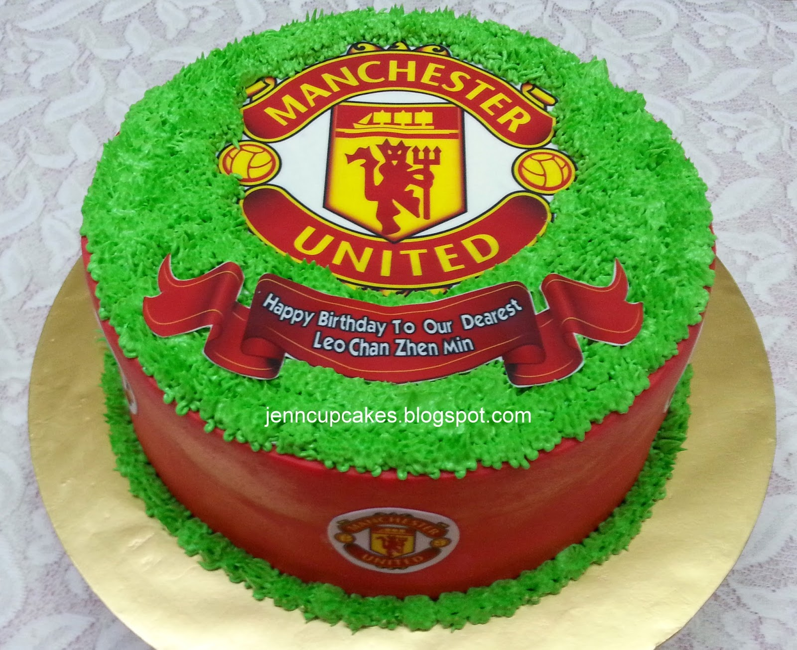 Jenn Cupcakes Muffins Manchester United Cake Cupcakes