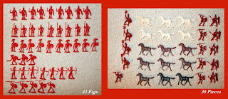 Baravelli Italy; Baravelli Like Giant; Baravelli Plastic Romans; Baravelli Romans; Baravelli Toy Soldiers; Britains Trojans; Giant Like; Hong Kong Romans; Horse Mexican Large; Italian Toys; Made in Hong Kong; Marx Romans; Mexican Large Horse; Plastic Roman Soldiers; Plastic Toy Figures; Plastic Toy Soldiers; Roman Cavalry; Romani a Cavallo; Romani A Piedo; Romans On Foot; Small Scale World; smallscaleworld.blogspot.com;
