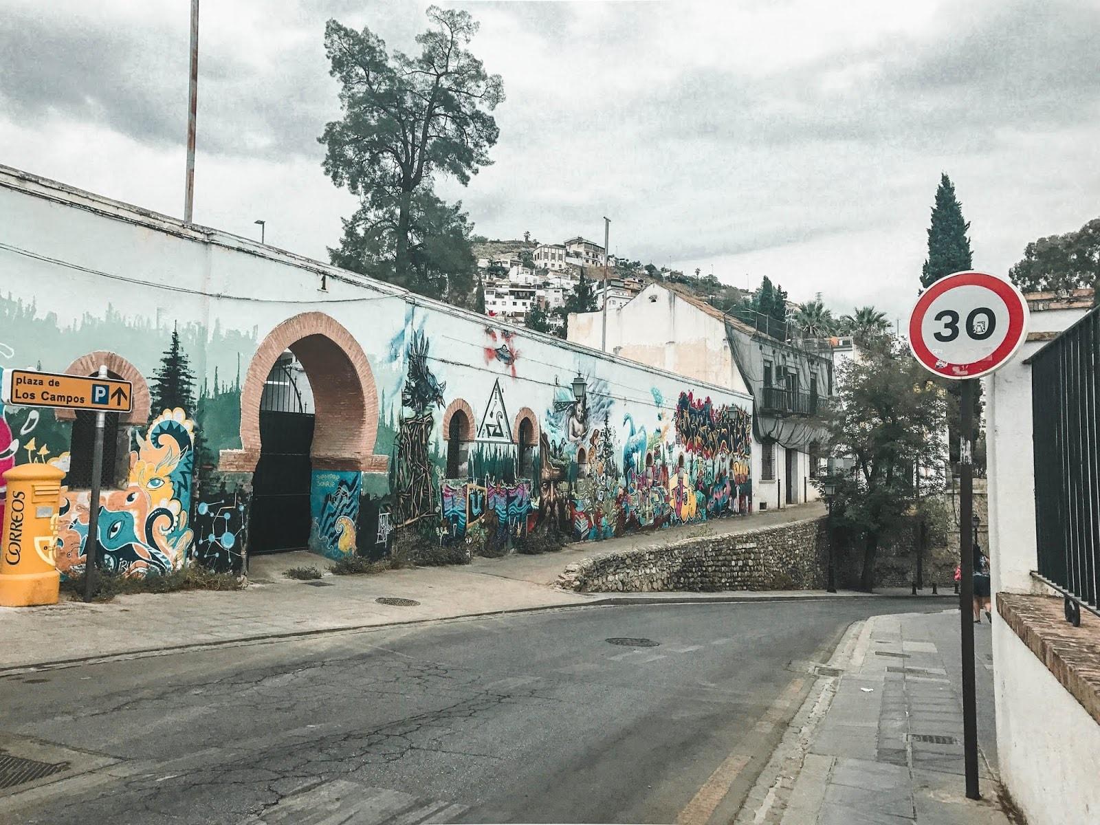Granada Spain Street Art