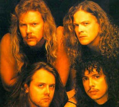 Caras de miembros de Metallica