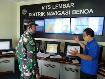 Lanal Mataram Dukung Pelaksanaan TSS Selat Lombok
