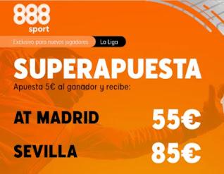 Superapuesta 888sport Atletico v Sevilla 12-1-2021