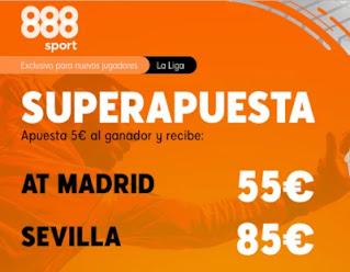 888sport superapuesta Atletico vs Sevilla 12 enero 2021