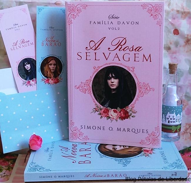 Familia-Davon, livro, A-Rosa-Selvagem, Simone-O-Marques, Ler-Editorial