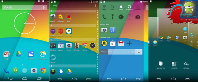 kk launcher prime apk screenshot