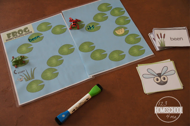 frog sight words game is perfect for teaching 2nd graders the grade two dolch sight words in a fun educational game
