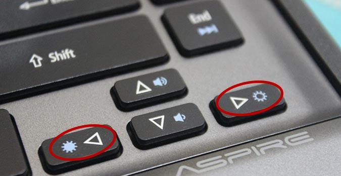 Cara mengatur kecerahan laptop dengan keyboard