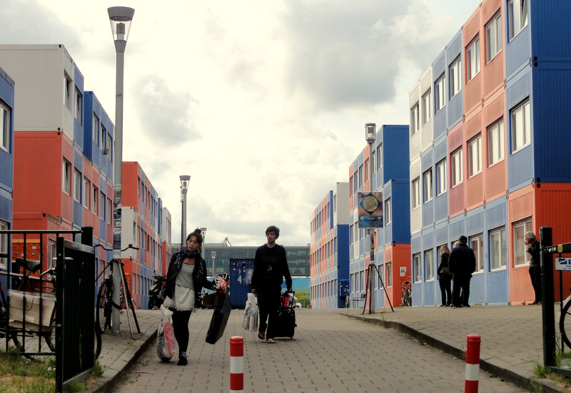 Hedendaags Keetwonen: Shipping Container Housing for Students in Amsterdam KA-19