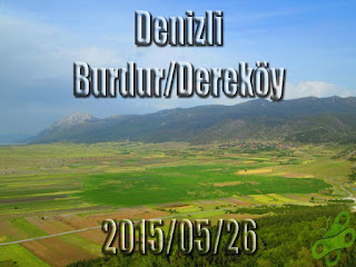 2015/05/26 Buralarda geziyorum bisiklet turu (BGBT) 12. Gün (Denizli – Burdur/Dereköy)