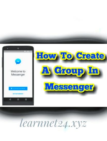ফেসবুক মেসেঞ্জার গ্রুপ খুলবেন যেভাবে।  how to create group in messenger