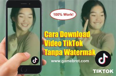 Cara Download Video TikTok Tanpa Watermak