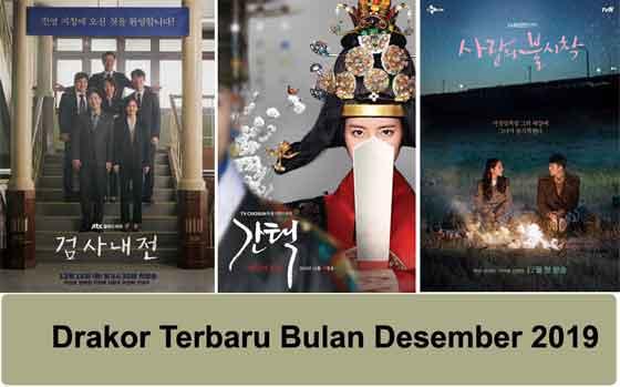 drama korea terbaru bulan desember 2019
