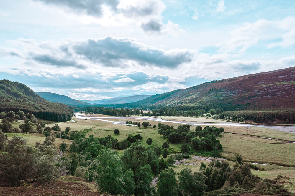 Aberdeenshire's beautiful countryside