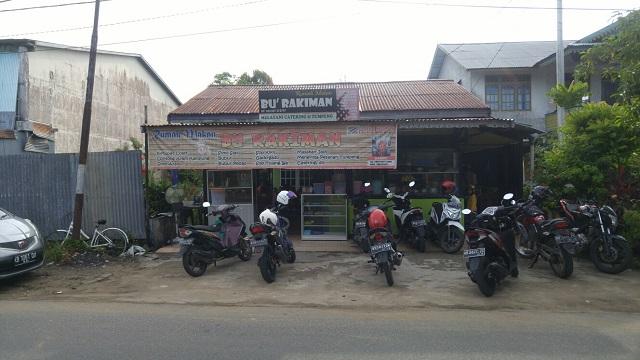 Rumah Makan Bu Rakiman kota Ketapang, Kalimantan Barat