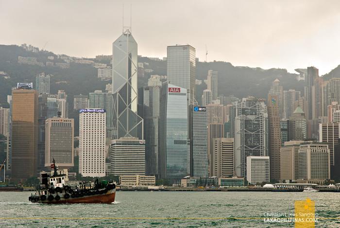 Hong Kong Skyline from Superstar Virgo
