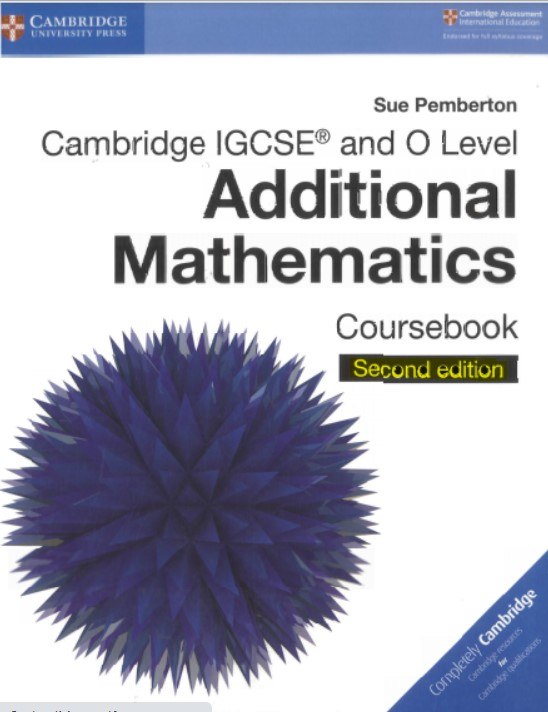 Cambridge Additional Mathematics 2nd edition in pdf