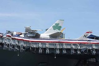 USS MIdway Museum Plane