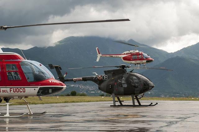 Aeronautica addestramento piloti Vigili Fuoco