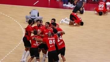 منتخب مصر لكرة اليد يحقق إنجازا تاريخياً ويتأهل إلى نصف نهائي أولمبياد طوكيو 2020