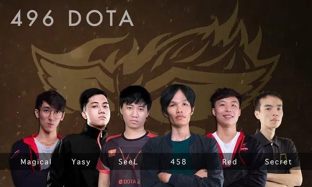 Dota 2 là niềm hi vọng vàng của Esports Việt Nam với team 496 DOTA