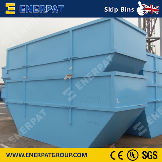 Enerpat skip bins are coming, with high quality and effective cost.