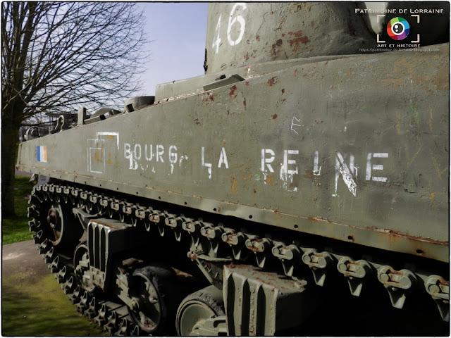 "PHALSBOURG (57) - Char Sherman ""BOURG LA REINE"""