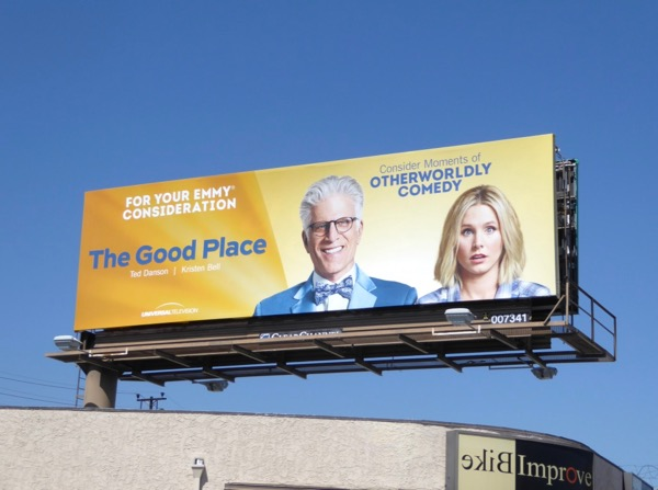 Good Place 2017 Emmy FYC billboard