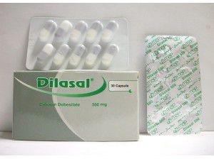 سعر ودواعي استعمال كبسولات Dilasal لعلاج السكري