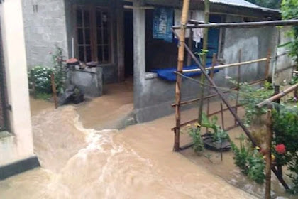 Banjir Banyumas Rendam Belasan Rumah Warga
