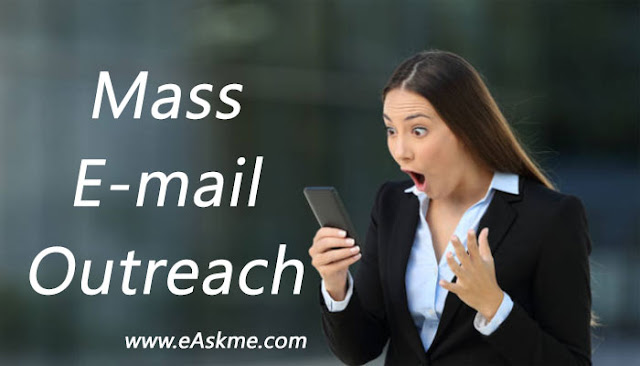 Why Mass Email Outreach Doesn't Work Anymore: eAskme