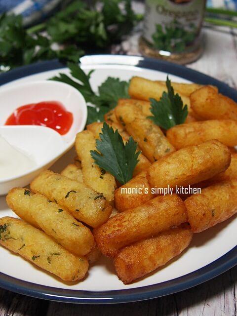 resep stik kentang keju oregano seledri