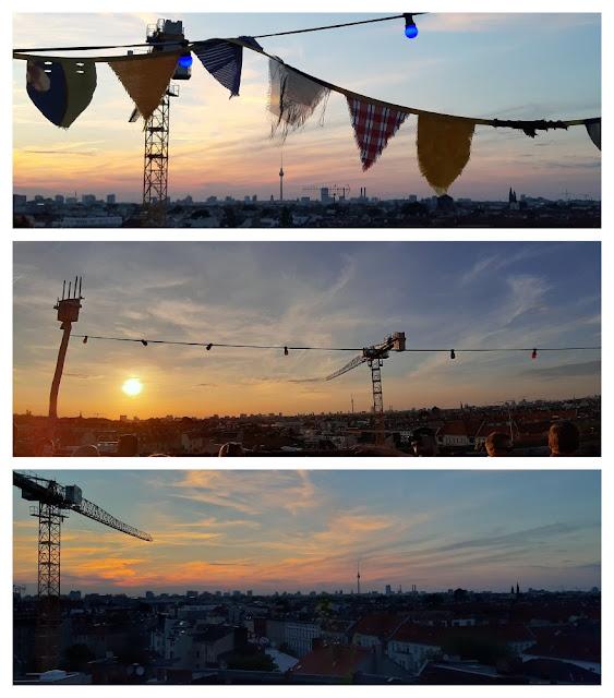 Berlim vista do alto - várias opções de vista panorâmica! Klunkerkranich