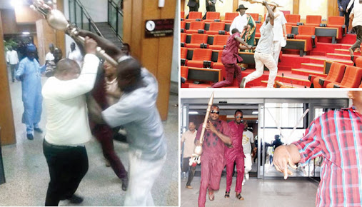 Update On Police Search For Senate Mace Thieves As Female Official Leaves Hospital